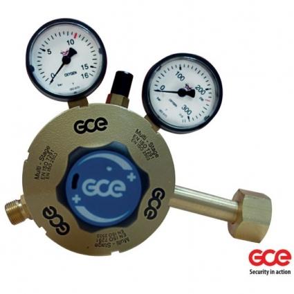 Редуктор двухступенчатый кислородный GCE Multistage RG S2+ OXY. f21210001