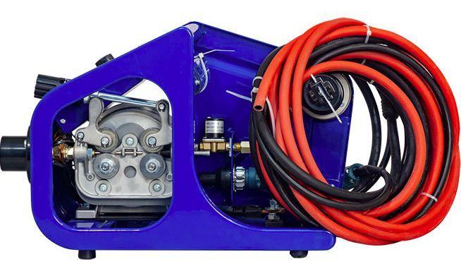 Полуавтомат AuroraPRO ULTIMATE 350 (MIG/MAG+MMA) с открытым подающим механизмом