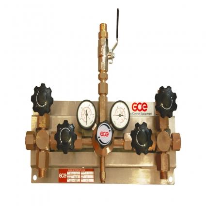 Газовая рампа перепускная MM70-2 GCE Druva Tec