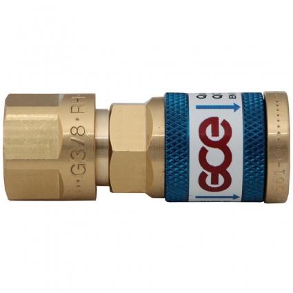 Быстросъемное соединение для регулятора QC-010 GCE Druva Tec