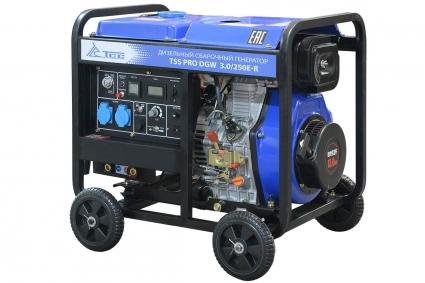 Сварочный дизельный генератор TSS PRO DGW 3.0/250E-R