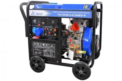 Инверторный сварочный дизельный генератор TSS DGW 6.0/200ED-R