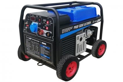 Бензиновый сварочный генератор TSS PROF GGW 5.0/200EH (MMA/TIG/CELLULOSE)