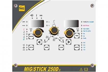 Сварочный полуавтомат HUGONG MIG/STICK 250D III
