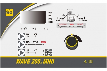 Аргонодуговой аппарат HUGONG WAVE 200 III MINI AC/DC