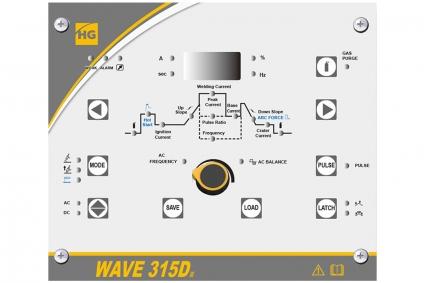Арногодуговой аппарат HUGONG WAVE 315D III AC/DC (с БЖО и тележкой)