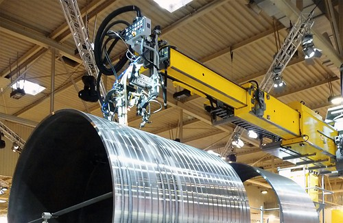 Система колонн со стрелами ESAB Telbo 6500 и 9500