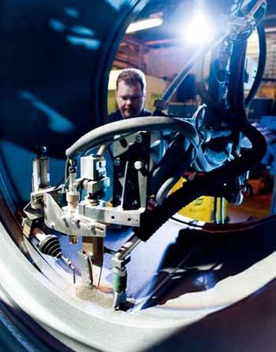 Сварочный робот ESAB SAW RETROFIT