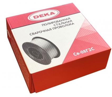 Полированная проволока DEKA СВ08Г2С 1,2 мм (15 кг)