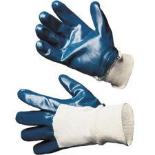 Перчатки нитриловые частичное покрытие Super Strong