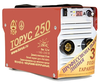 Сварочный инвертор Торус 250 ЭКСТРА