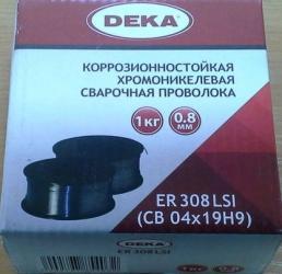 Проволока нержавеющая ER-308 LSI 0,8 мм 1 кг