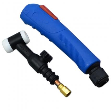 Горелка WP-17 4м  разъем 35-50, кнопка+вентиль