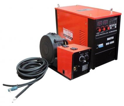 Сварочный инверторный полуавтомат MIG-500 S