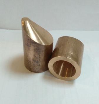 Электрод для точечной сварки несимметричный