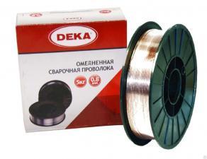 Проволока ESAB, DEKA, OLIVER ER70S-6 0,6 мм-3,0 мм 5кг