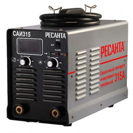 САИ-315.Сварочный инвертор РЕСАНТА. 20-315 А, 380 В.