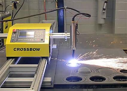 Crossbow ESAB. Машина плазменной и газокислородной резки