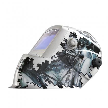 Маска Сварщика FoxWeld  КОРУНД-2 «ТЕХНО» (ФИЛЬТР 9100V) БЕЗ КОРОБКИ