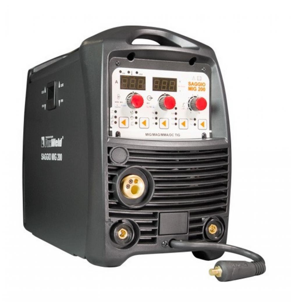 Сварочный инверторный полуавтомат SAGGIO MIG 200