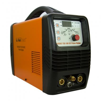 Сварочный инверторный полуавтомат SAGGIO TIG 180 DC PULSE DIGITAL