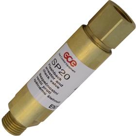 Затвор предохранительный GCE SP20/FR20  - кислород