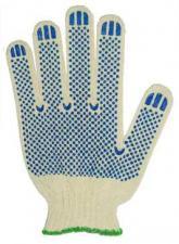 Перчатки хб с ПВХ Эконом
