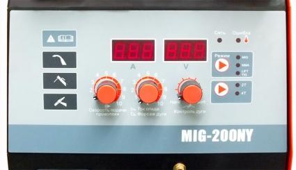 MIG-200NY сварочный полуавтомат MIG200NY