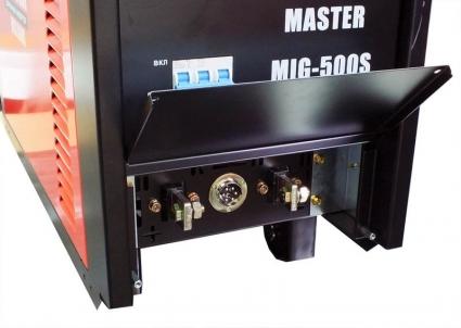 MIG500 S сварочный инверторный полуавтомат MIG-500 S