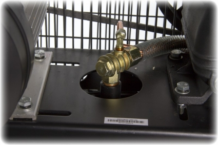 Компрессор масляный ременной AEROMAX 380-100