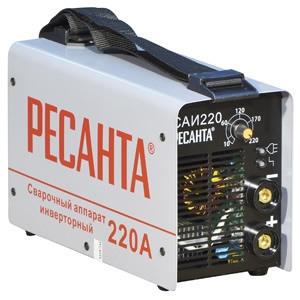 САИ-220. Сварочный инвертор РЕСАНТА. 220 А, 220 В.